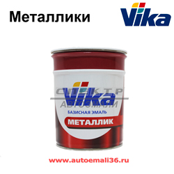 Автоэмаль VIKA металлик 86R Technical Grey CHEVROLET 1л